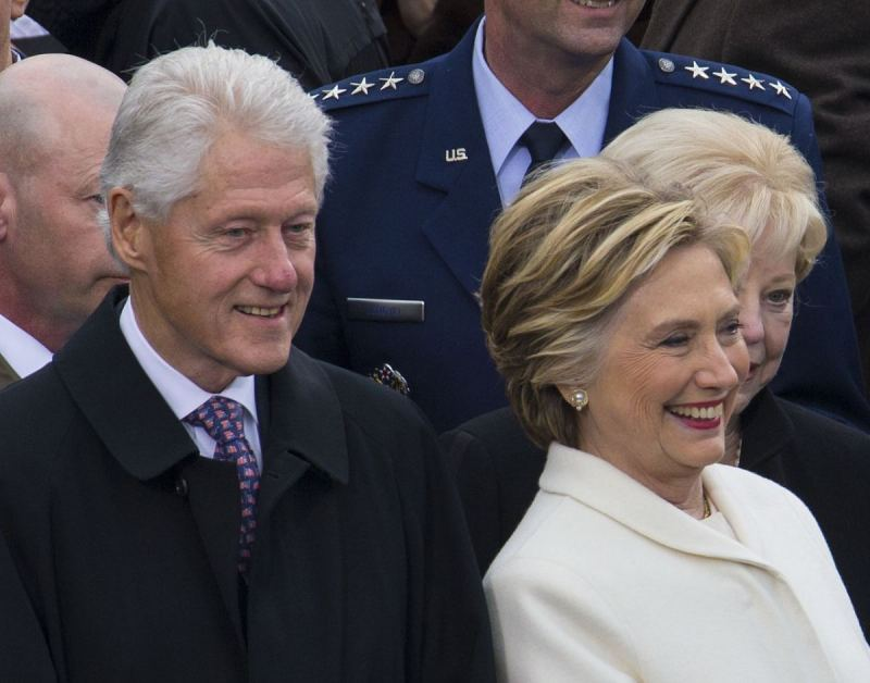 Bill and Hillary Get Heckled During Their Snoozefest Book Tour