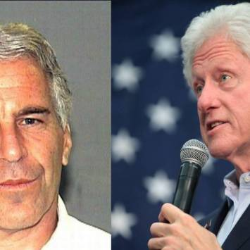 """""""Sexual Picture"""" of Bill Clinton Found Inside Jeffrey Epstein's Mansion"""