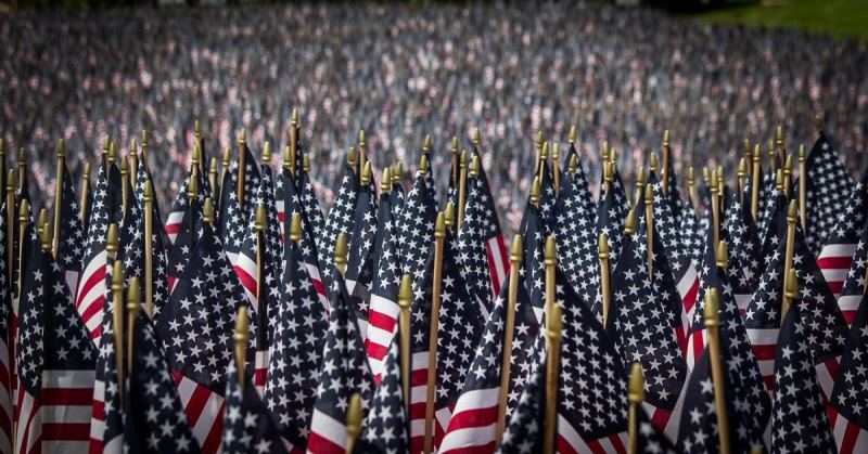 """Virginia Schools Tell Student to Stop Flying """"Offensive"""" American Flags, The Next Day They Did This"""