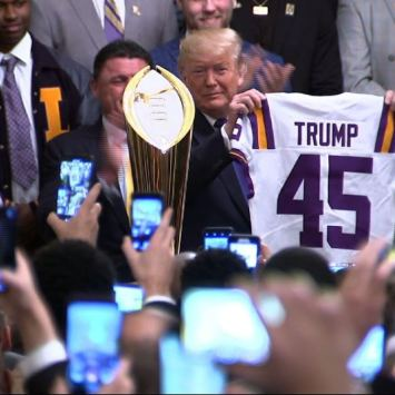 """He Showed So Much Love"" – Heisman Trophy Winner Joe Burrow Praises Trump After White House Visit (VIDEO)"