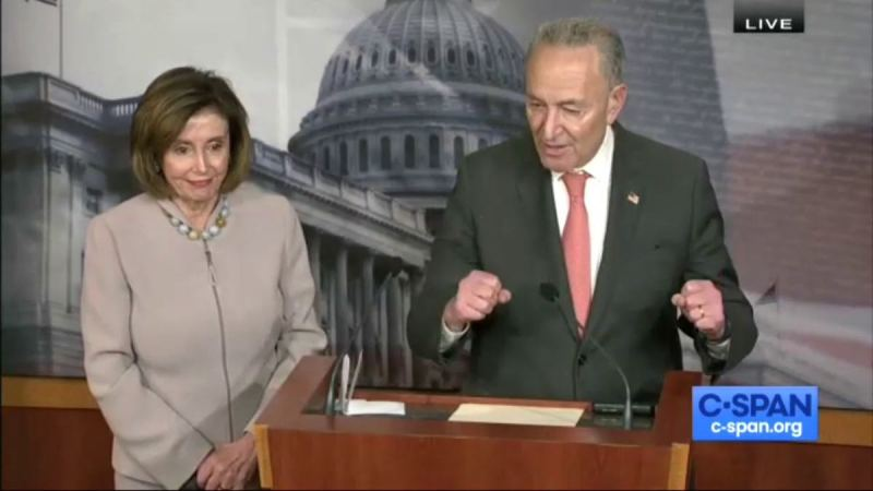 WATCH: Schumer and Pelosi Have Themselves Fooled, Claim Dems Will Be 'Strongly United' Behind Nominee…Even If It's A Socialist