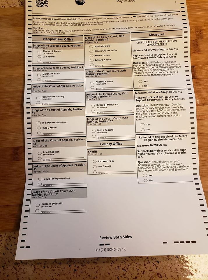 "MASSIVE SCANDAL: State Changes Hundreds of Republican Ballots to ""Non Partisan"" So They Can't Vote in Primary"