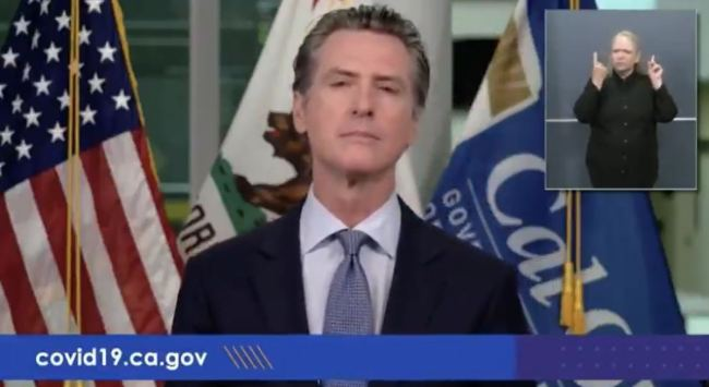 WATCH: Gavin Newsom Triggered After Being Asked Why His Business Received COVID Loan