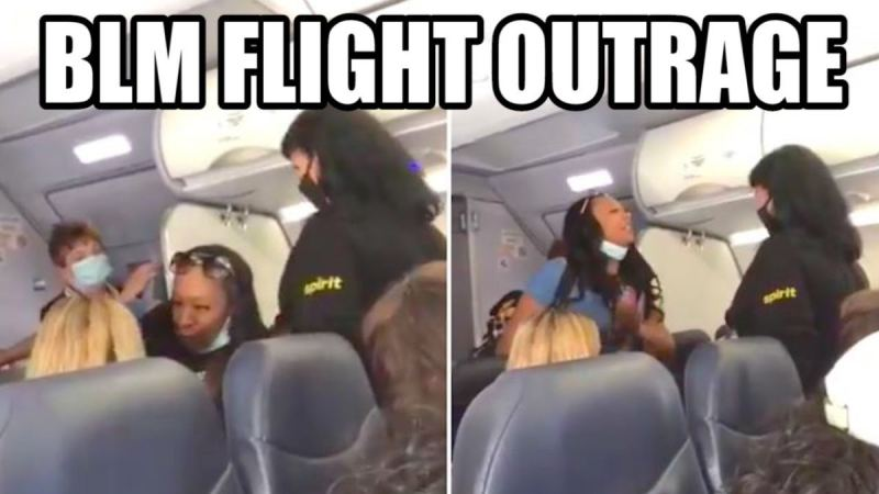 "Obnoxious Black Woman Refuses To Move For White Flight Attendant…Shouts In Face Of White Passenger: ""You Don't Have White Privilege Over Me"" (VIDEO)"