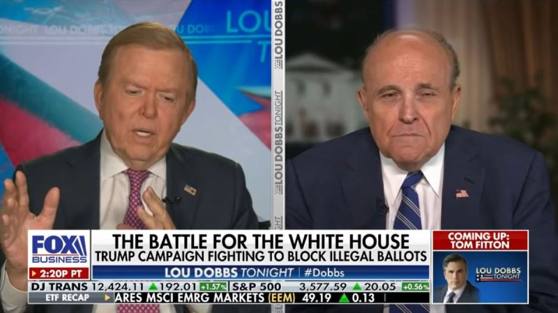 Giuliani Speaks Out On Statement on Sidney Powell