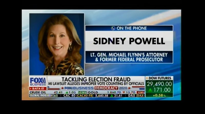 Sidney Powell Give Simple Breakdown of Evidence in Election Fraud
