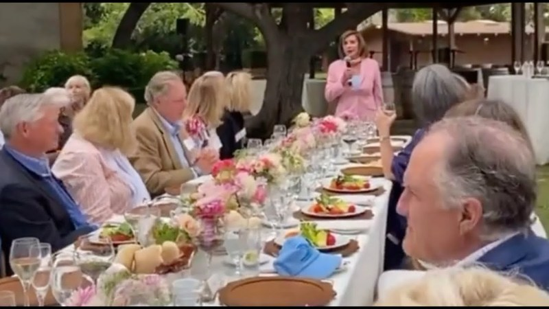 """Nancy Pelosi Defies """"Science"""" and """"Common Sense"""" by Hosting Super Spreader Event"""