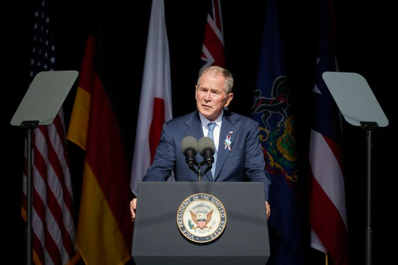 President Bush TRASHES Veterans Who Went to Fight HIS War