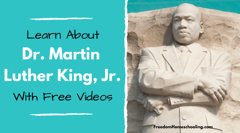 Dr Martin Luther King Jr Videos Freedom Homeschooling