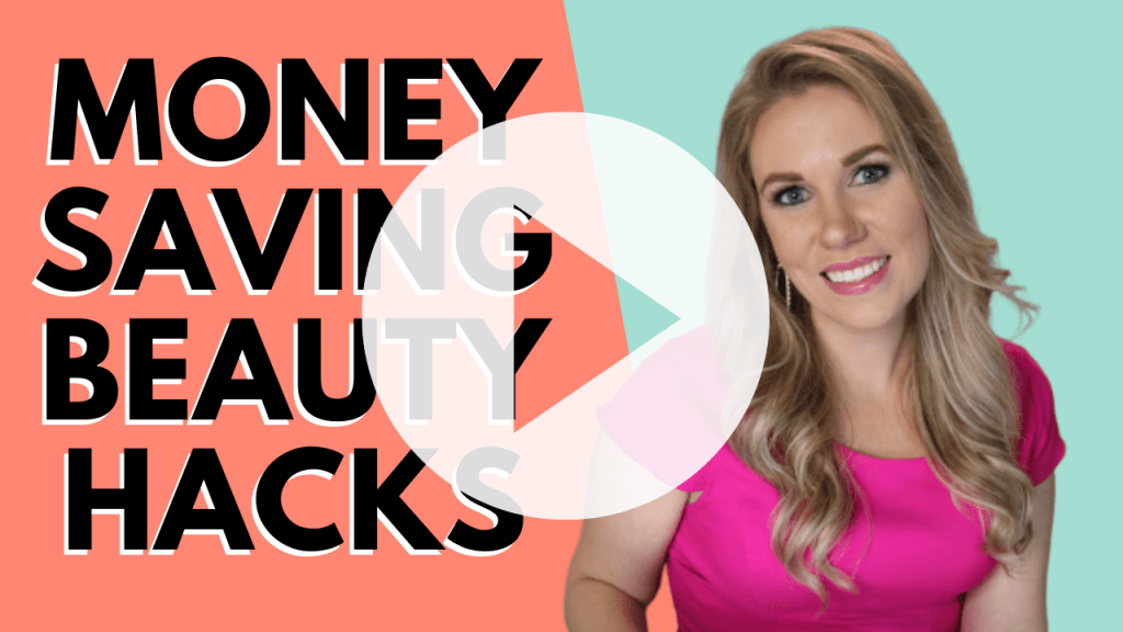 Saving money and beauty products don't usually go hand in hand, but they can! Today, I'm going to share with you my top minimalist and frugal beauty and makeup hacks to save you time and money!!