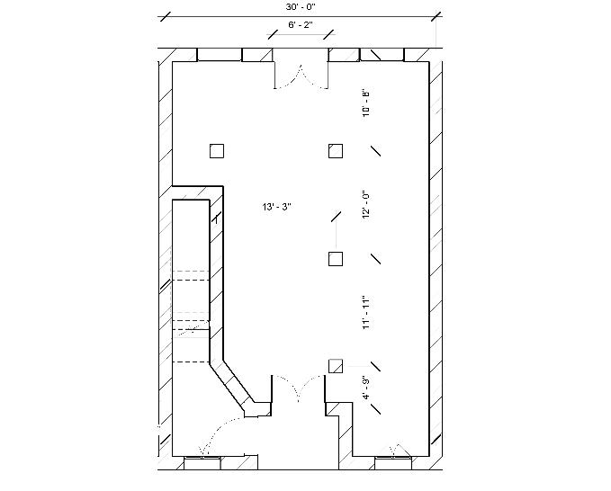 Plan of the Showroom