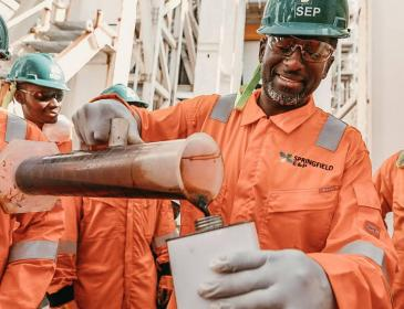 Springfield makes billion-barrel find off Ghana