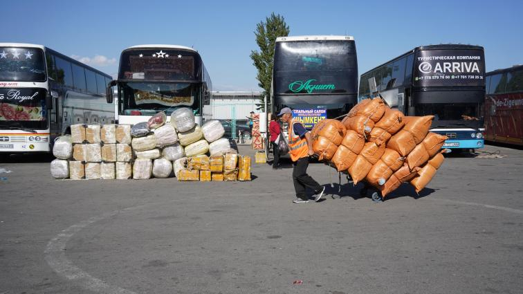 The buyers and sellers of Khorgos, a special trade zone on the Kazakhstan-China border