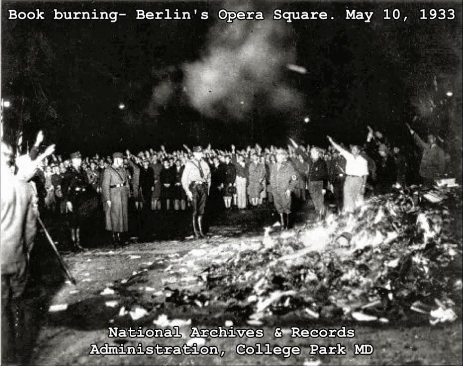 Book Burning 1933