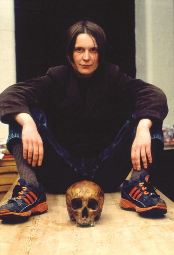 Sarah Lucas Self-Portrait with Skull 1996
