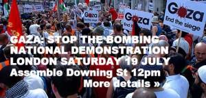 gaza demo