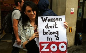 Women don't belong in a ZOO