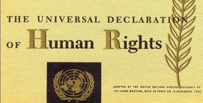 UN Universal Declaration of Human Rights