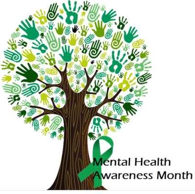 Mental Health Awareness Month logo