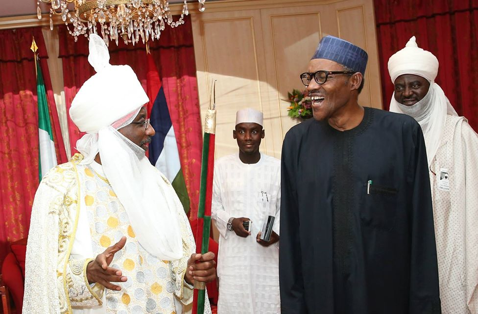 Emir Kano Malam Muhammadu Sanusi President Buhari Economic