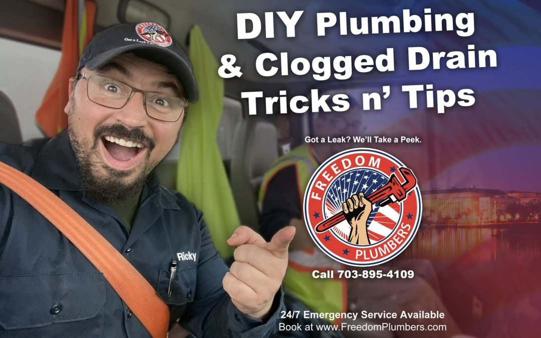 DIY Plumbing & Clogged Drain Tricks n' Tips