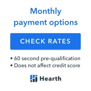 Plumbing services financing available by HEARTH
