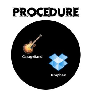 Working with GarageBand and DropBox