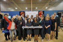 Members of Comcast's Internet Essentials team