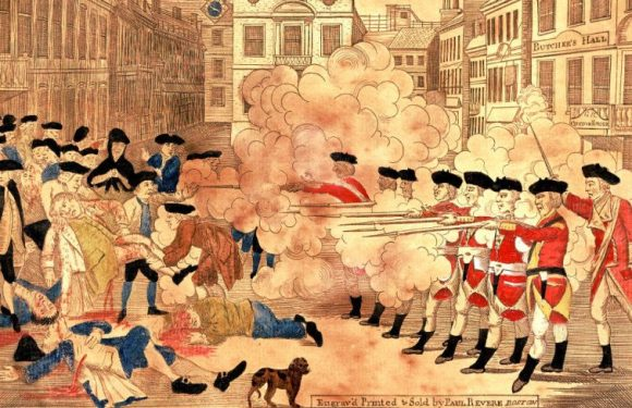 The Boston Massacre & Our 3rd Birthday