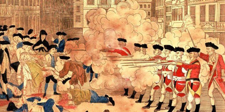 The Boston Massacre & Our 3rd Birthday