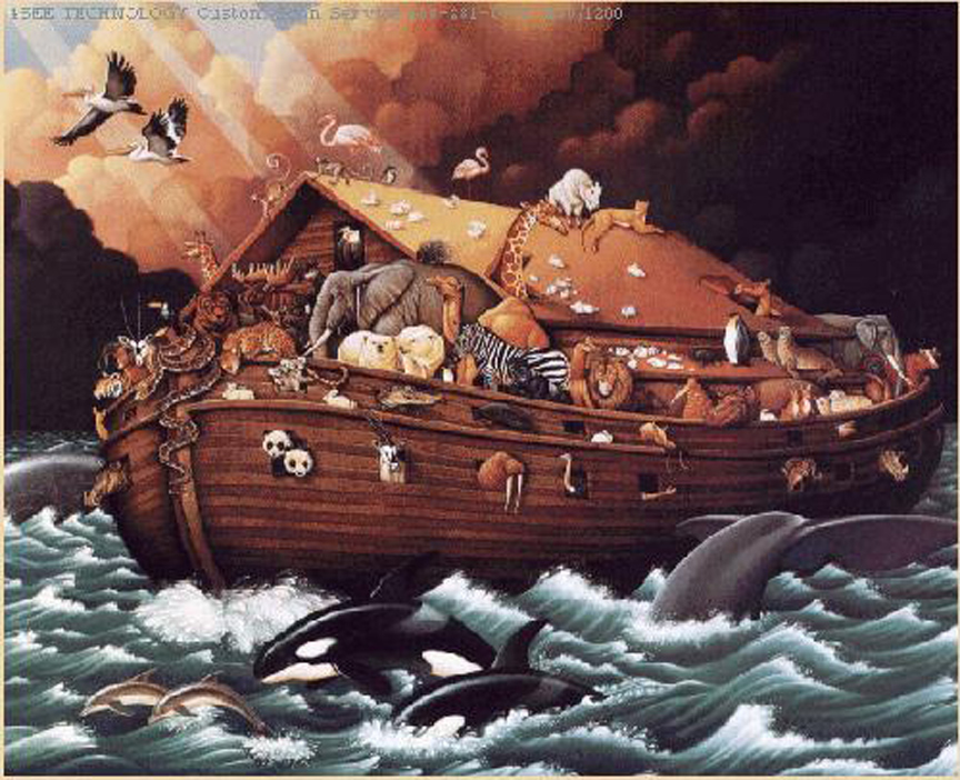 noah s ark saved all life on earth at least on our universe