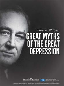 Great Myths of the Great Depression Cover