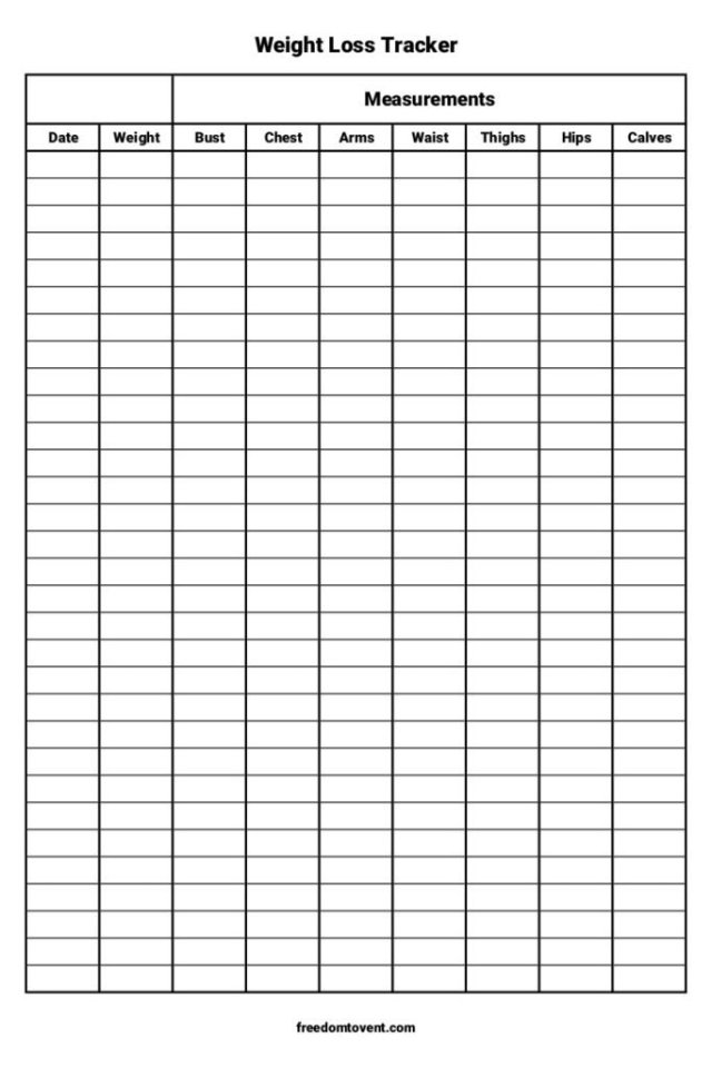 Weight Loss Tracker - Intermittent Fasting