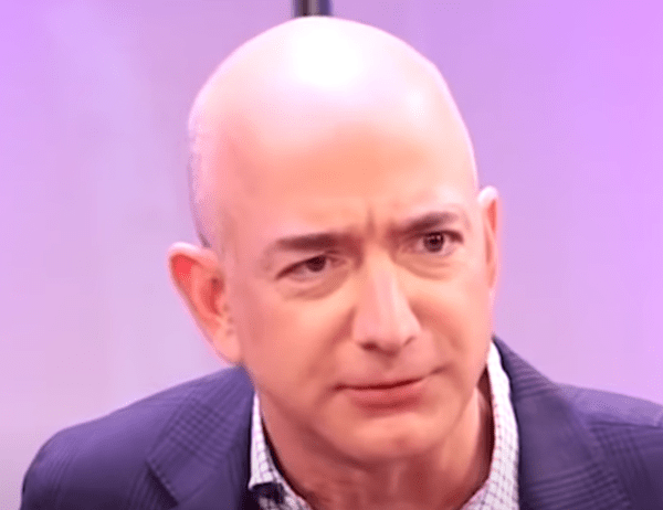 Protesters Threaten Amazon Founder's Life With Twisted Display