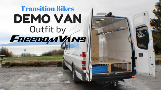 Transition Bikes Demo Van by Freedom Vans