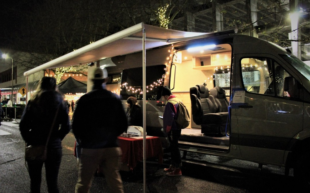 Bellingham Commercial Street Night Market Van Rally