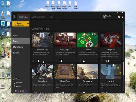 Epic Games Launcher 2.12.19 - free download for Windows
