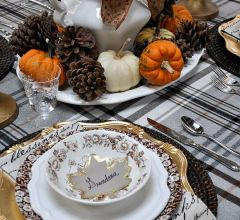 Awesome Thanksgiving Tablescape Decoration