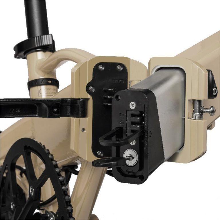 Bicicleta eléctrica Freeel Z03 Beige Mate