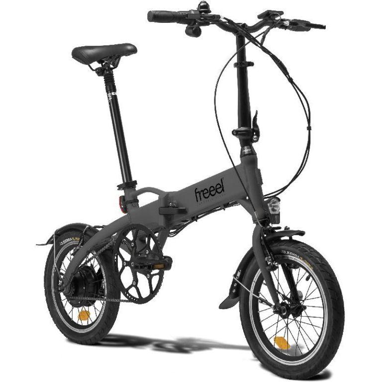 Bicicleta eléctrica Freeel Z03 Gris Mate