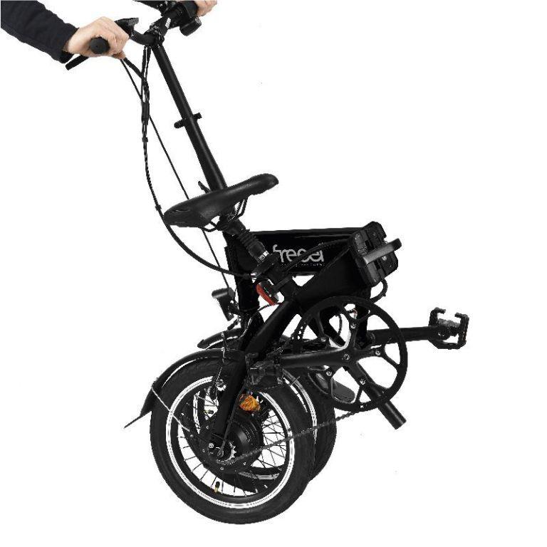 Freeel Bicicletas Eléctricas. Freeel Z03-S Matte Black Edition