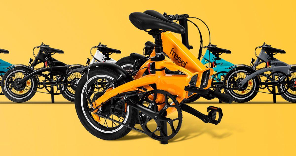 Freeel Bicicletas Eléctricas. Freeel Z03, la bicicleta plegable diseñada en Barcelona