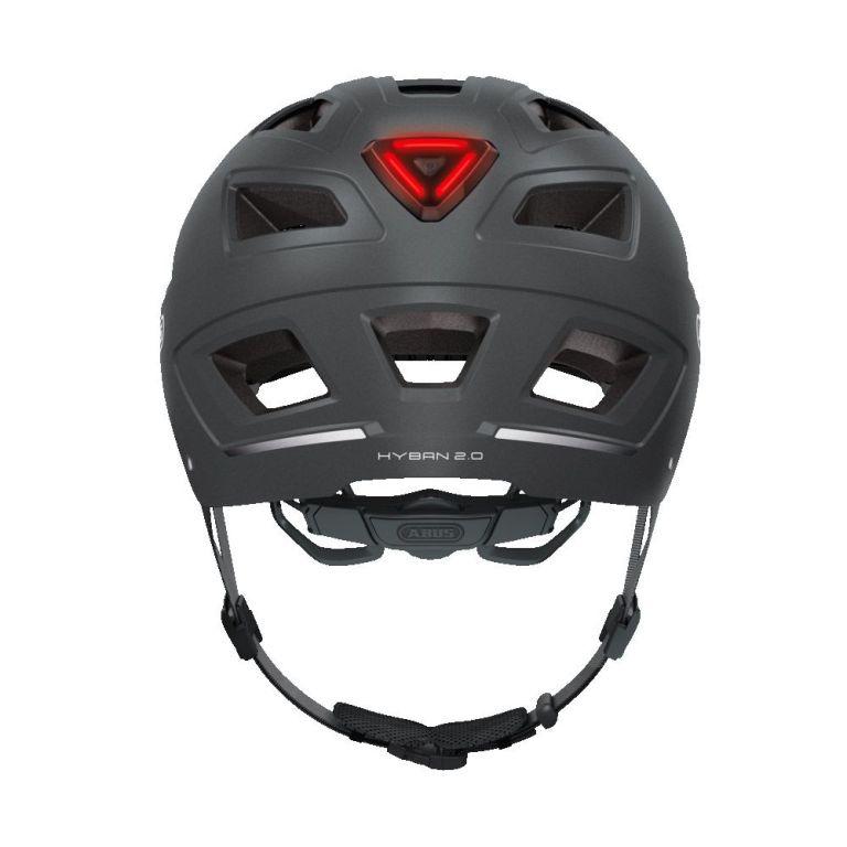 Casco Abus Hyban 2.0 Titan para bicicleta eléctrica Freeel Z03