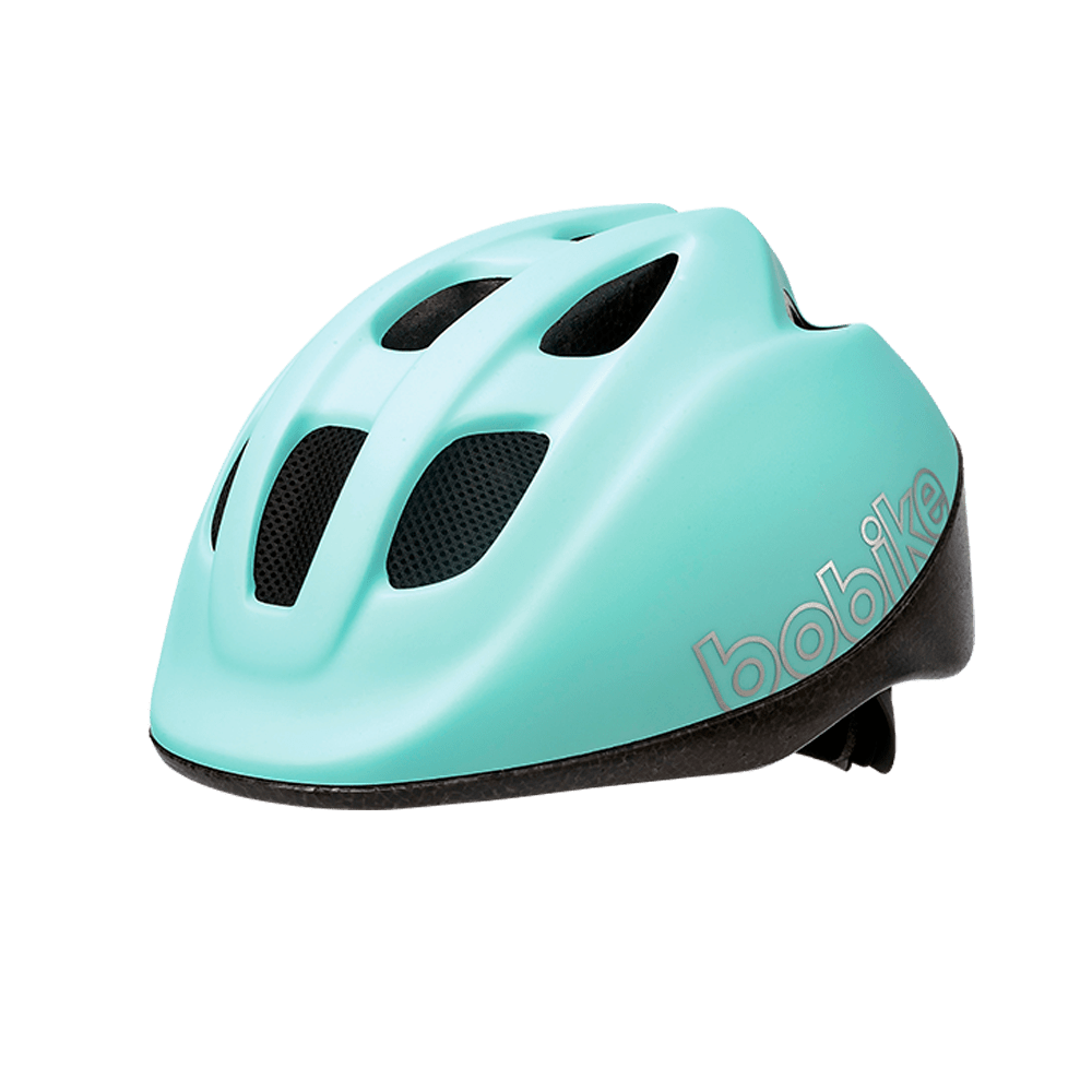 Casco Infantil Bobike XS Go Marshmallow Mint para bicicleta eléctrica Freeel. Seguridad y diseño para disfrutar en familia de tu bici