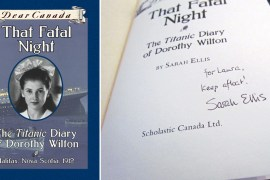 That Fatal Night: A Dear Canada Book, Guest Post by Laura MacDonald
