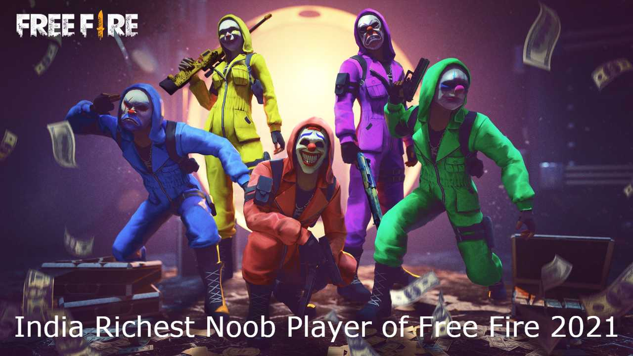 India Richest Noob Player of Free Fire