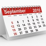 A calendar showing September 2010.