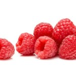 A selection of raspberries.