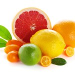 A selection of citrus fruits.