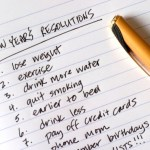 A list of fitness themed New Year's resolutions.